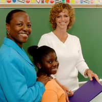 Disability Child Classroom Parents